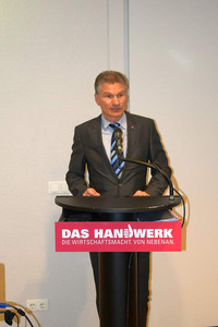 Karsten Drews, Vizepäsident der Handwerkskammer Cottbus