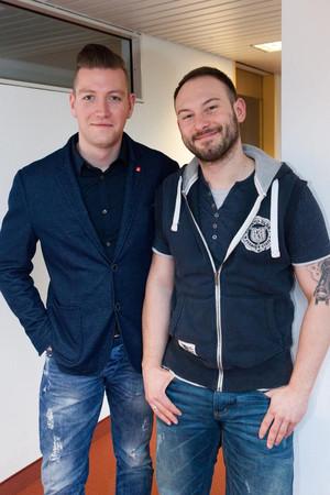 Bojan Westphal und Dennis Demir. Foto: Annette Hornischer
