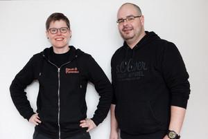 Kathin Schmidt und Sven Buhr. Foto: Annette Hornischer